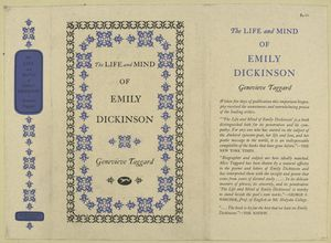 The life and mind of Emily Dickinson.